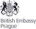 Britské velvyslanectví v Praze logo/British Embassy Prague logo
