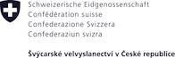 Velvyslanectví Švýcarské konfederace logo/Embassy of Switzerland logo
